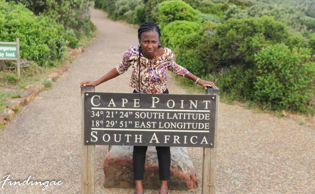 Cape point sign