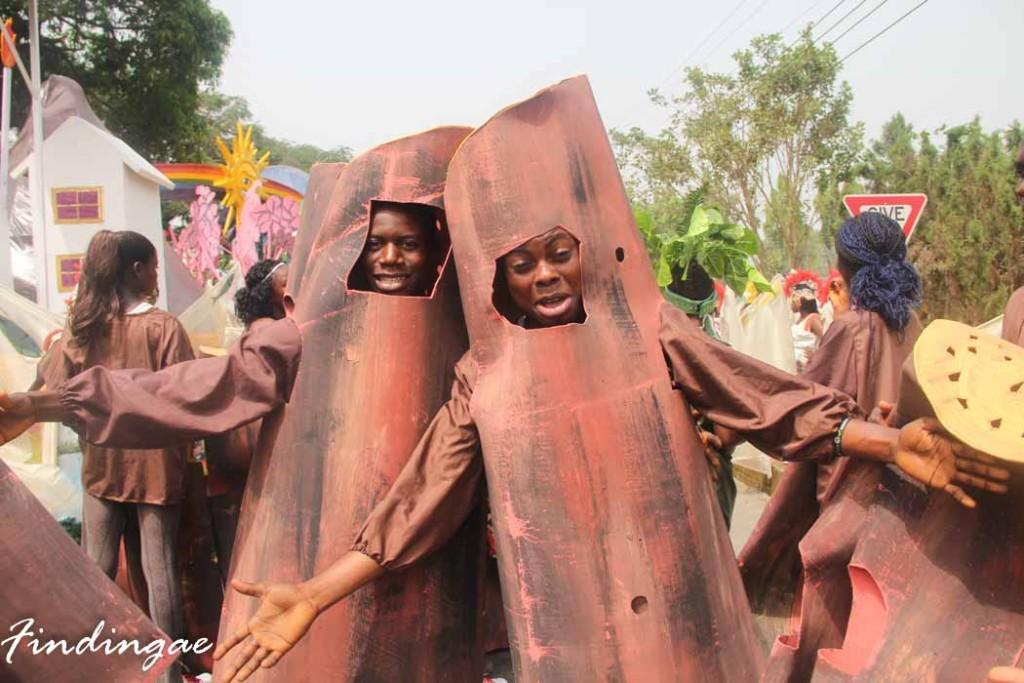 Tree Barks at Calabar Carnival